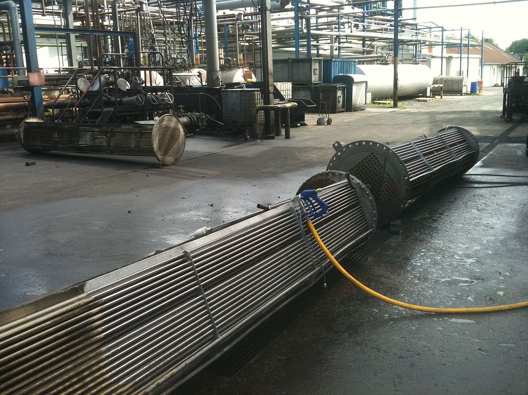 URACA_Waermetauscherreinigung_heat_exchanger_cleaning